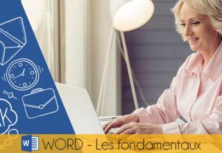WORD : Les fondamentaux