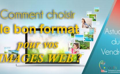 [ASTUCE]🦉 Comment choisir le bon format pour vos images Web ? 👍🌈
