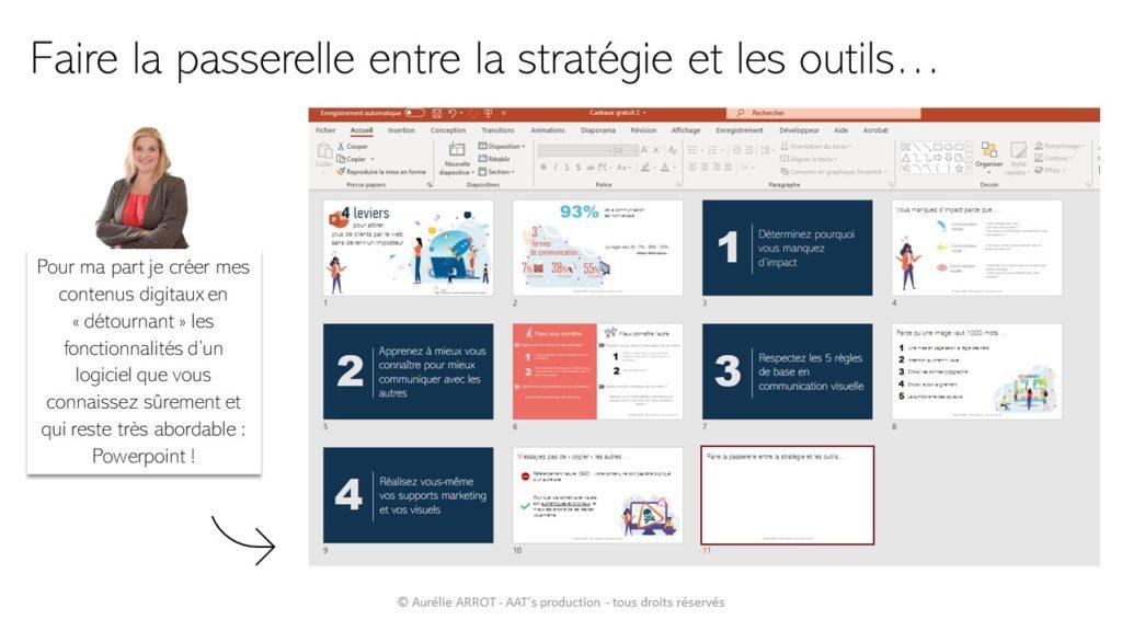 Powerpoint : détourner les fonctionnalités du logiciel pour créer vos vidéo web marketing