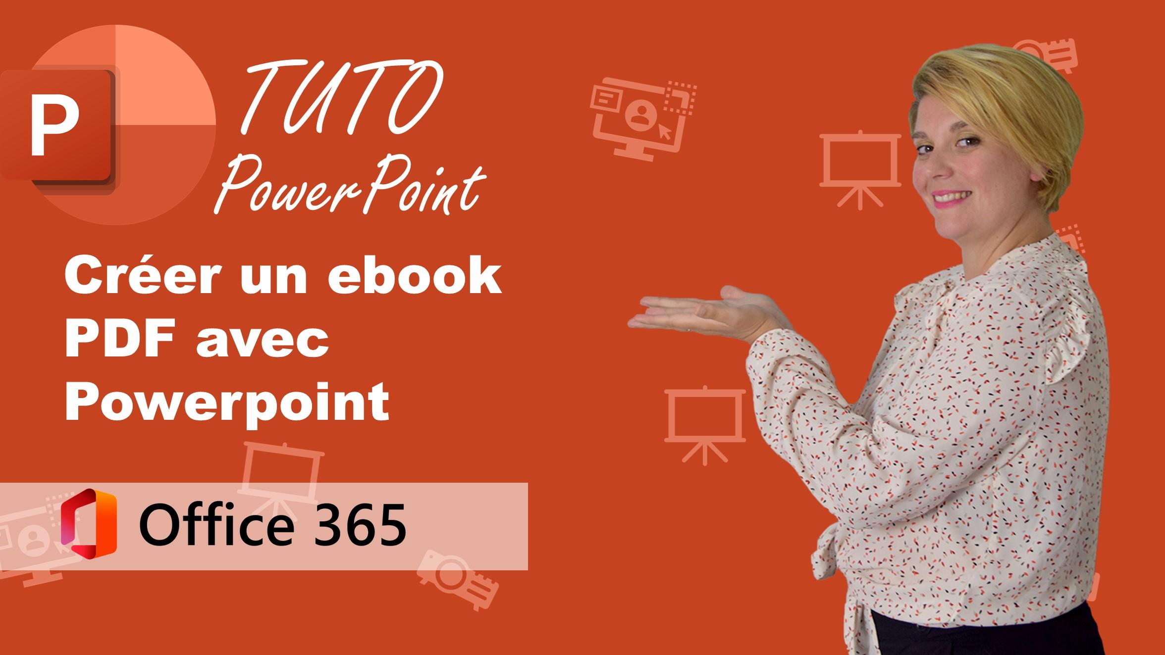 📙 TUTO POWERPOINT : Comment créer un ebook PDF | office 365